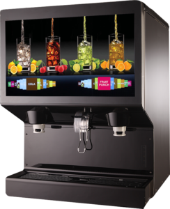New Ice Combo Dispensers with customizable touch screens and displays